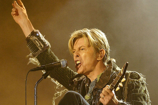 David Bowie: Despite the rumours, it would still be really, really surprising if The Thin White Duke was actually booked (and utterly, life-changingly perfect).
