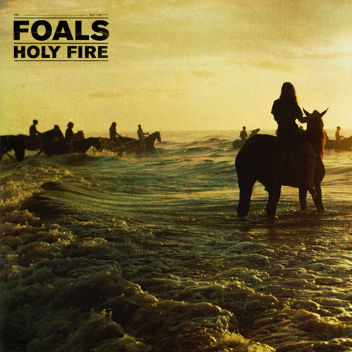 Foals - Holy Fire: The Oxford four-piece's third album Holy Fire provides clarity and sharpness, contrasting to their deeply metaphoric, chaotic nature of their past. With hit 'My Number' the least self-conscious, the album overall expands over time blooming into a loud piece perfect for deserving headline slots.