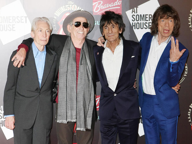 Rolling Stones @ Somerset House, 2012