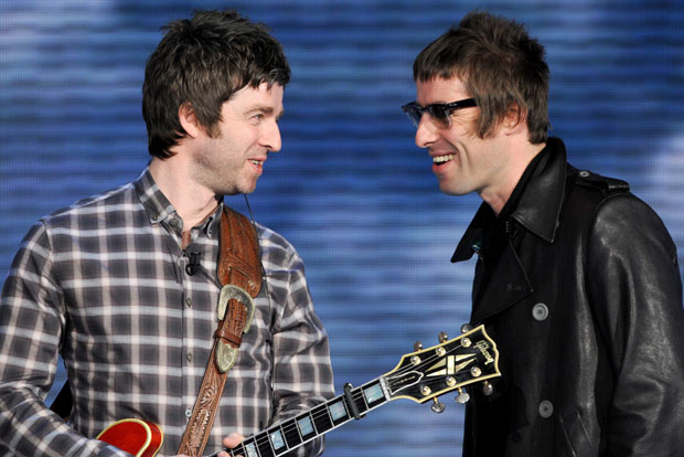 Oasis - The famous Manchester Gallagher brothers Liam and Noel formed one of the most successful UK bands back in 1991.