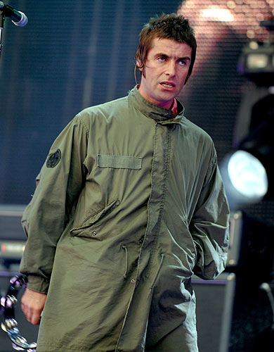 Liam Gallagher of Oasis @ Heaton Park, Manchester