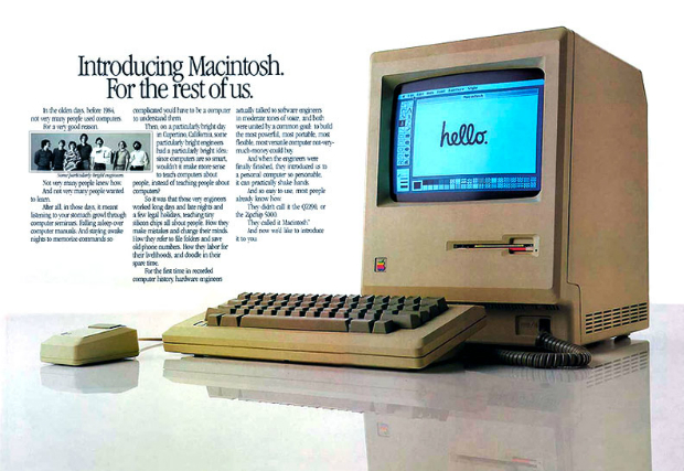 Macintosh 128k (1984)