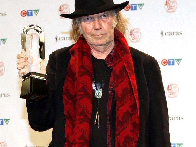 Neil Young - The rock legend announced he had been sober for a year in September 2012, and chose to give up drink and drugs due to curiosity more than anything else.