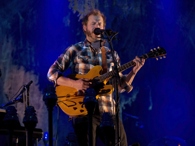 Bon Iver at Latitude (Day 1) 2012