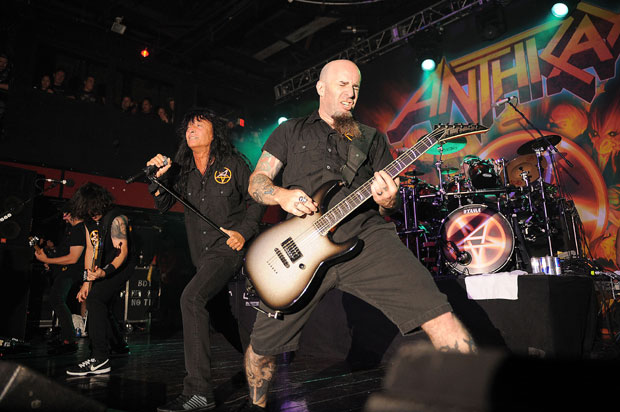 Anthrax perform at Revolution Live in Fort Lauderdale, Florida - 02/11/11.