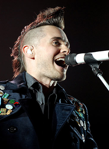 Jared Leto 30 Seconds To Mars 30 Seconds To Mars 2010 UK
