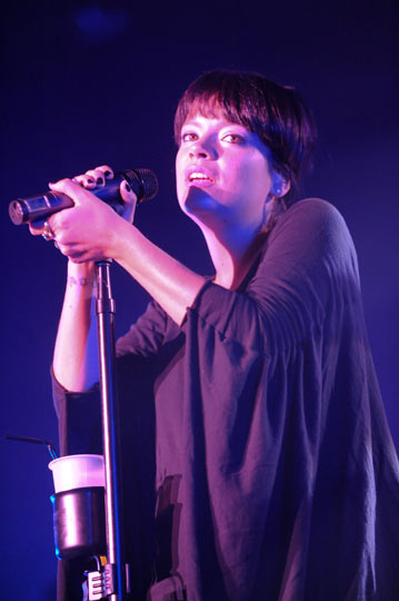 Lily Allen in Australia