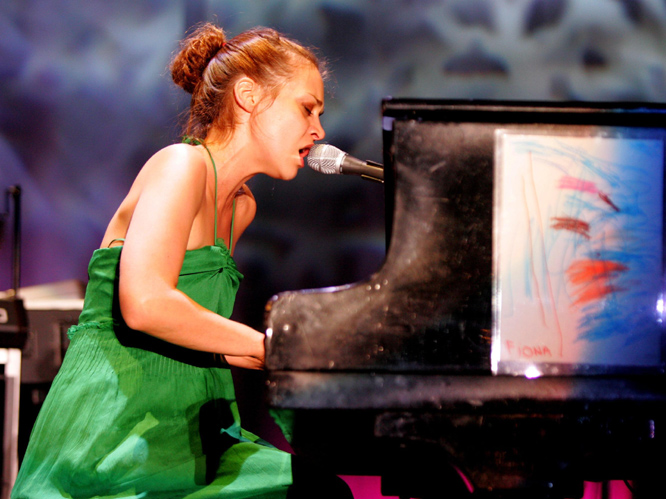 Fiona Apple: The vegan star and former girlfriend of David Blaine won a Grammy for her 1998 single ''Criminal'', and is still making outstanding music now. Watch the video for her latest single ''Every Single Night'', it%u2019s choc-a-bloc with giant snails and cow-headed men.