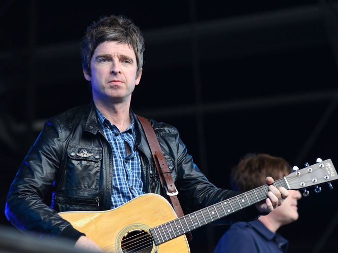 Noel Gallagher. When asked if he would be making a song for the Olympics, he replid,