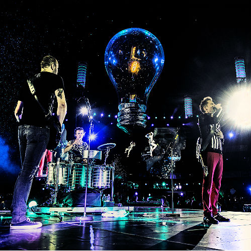 2013: Muse again make history by releasing  their epic 4k ultra high-definition Live At Rome Olympic concert movie in cinemas around the world. In our review, we said: