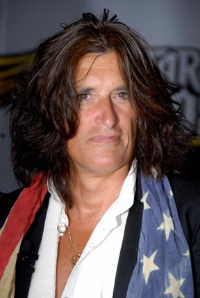 Aerosmith's Joe Perry - Perry waited until the last week to voice his support for John McCain. When it came, he revealed that he'd been a life long Republican.