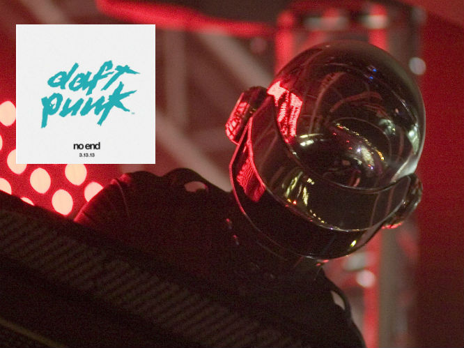 The album title: The fourth Daft Punk album looks likely to be called No End - or at least, a leaked image seen in early September 2012 seems to suggest so. Australian dance website InTheMix published the suspiciously official looking image along with a possible release date - 3 March, 2013.