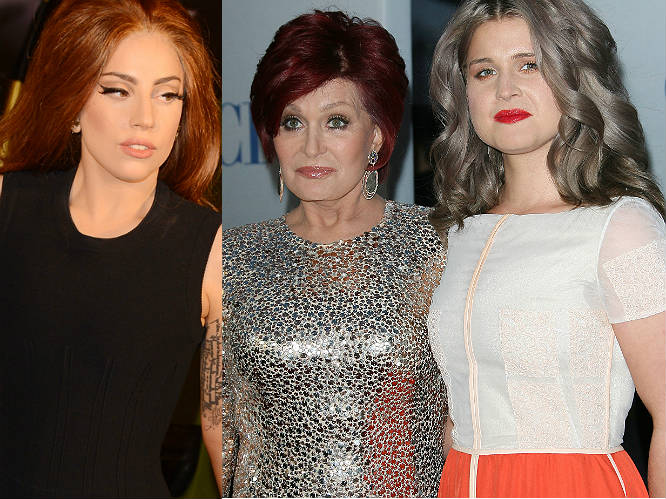 Lady Gaga vs Kelly Osbourne AND Sharon Osbourne: It takes a brave woman to take on an Osbourne, but hats off to Gaga, who felt the force of both in early 2013. Kelly openly criticised Gaga's 'Little Monsters' for calling her fat and suggesting she kill herself. Gaga responded, saying that Kelly shouldn't criticise others' appearance on her Fashion Police show. Mum Sharon waded in, calling Gaga 'abhorrent' and a 'bully'. No one involved here is known for backing down - expect this one to run and run...