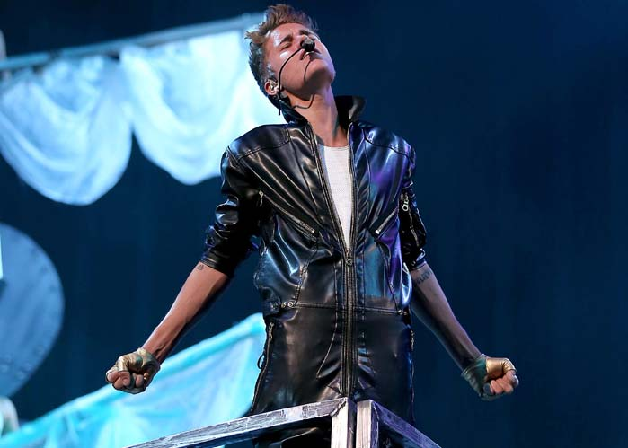 Justin Bieber: His fans, 'Beliebers', would be scary enough to get him on the list - seriously, they're like a cult - but there's just something else about him that gives us the creeps.