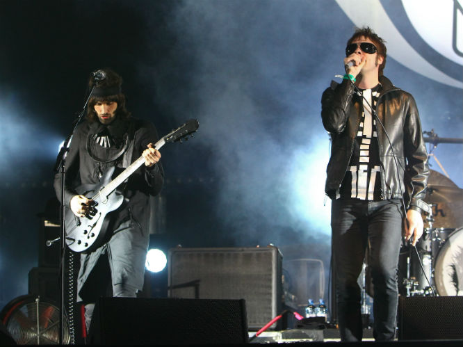 Kasabian live at Reading Festival 2012