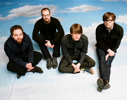 "1. Death Cab for Cutie: 'Meet Me on the Equinox' - The official song of New Moon sees emo rock kings Death Cab step up to the plate for one of their most driving and urgent tracks to date. ""Everything ends"" is sung repeatedly on a loop by Ben Gibbard, describing the relationship between New Moon's main characters Edward Cullen (Robert Pattinson) and Bella Swan (Kristen Stewart) and what New Moon has in hold for the pair. The official video for 'Meet Me On The Equinox' shows clips from the movie that depict Edward leaving Bella as well as the band performing the song live."