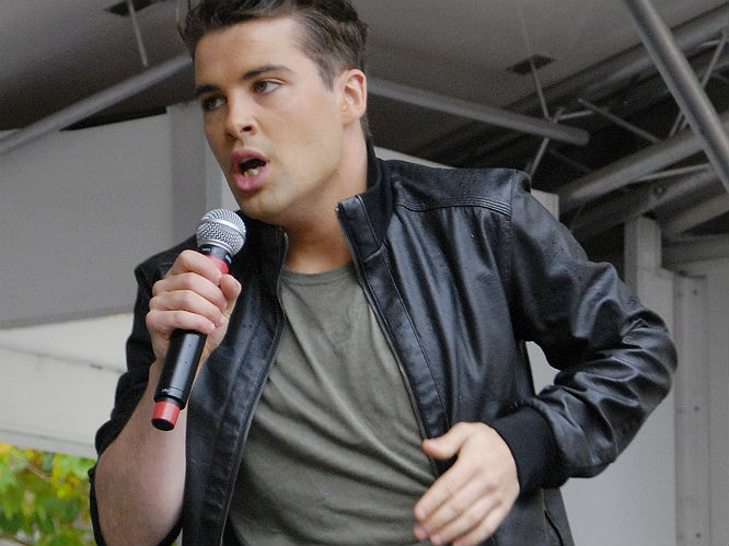 Joe McElderry: The X Factor winner was harassed by Ennis McBride, who was convicted on 11 September 2012 of stalking the star. It wasn't the most horrific case of all time - McBride interrupted the singer in the bath and attempted to give him some opera CDs.