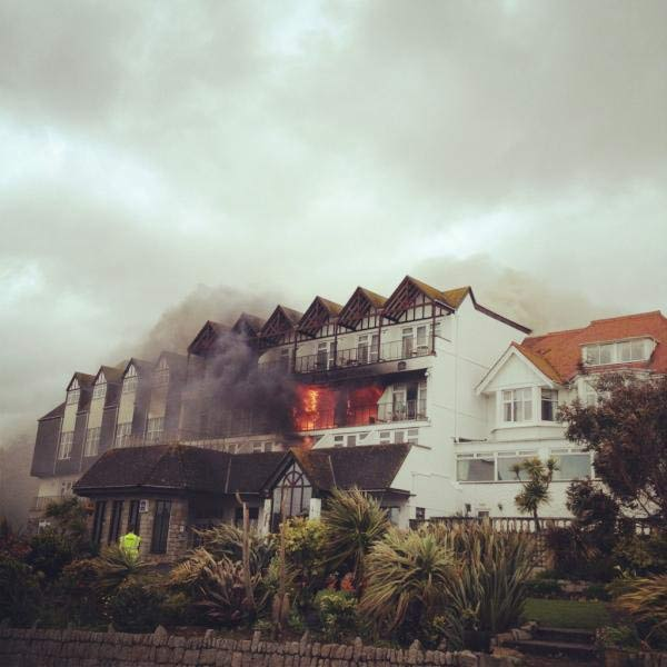 Graham Coxon: The Blur guitarist was caught up in a sedate, seaside drama today as his Falmouth hotel caught fire during his stay. Coxon escaped along with other residents, and celebrated his survival with a cornish pasty.