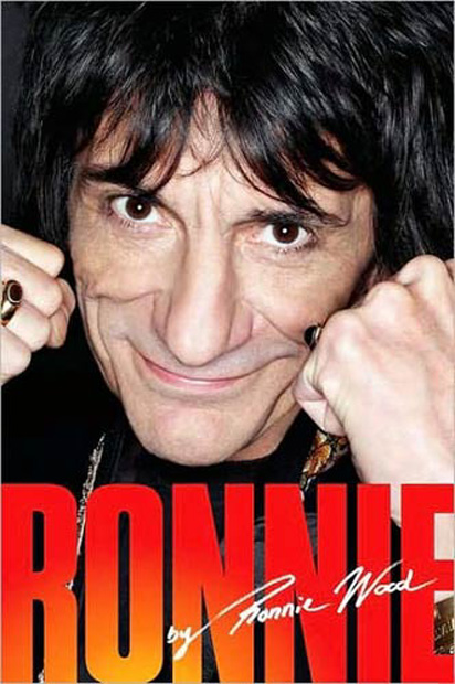 Ronnie Wood - 'Ronnie: The Autobiography' - As part of one of the biggest Rock n Roll groups in the world 63 year old Ronnie Wood certainly has a story to tell. Ronnie has had an exciting and some times dangerous six decades in music. The book tells of his 'relationship' with girls, booze and drugs, his love for music and art and his travels with Rod, Kieth and Mick.
