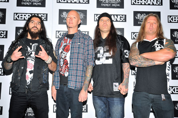 Machine Head @ Kerrang Awards 2012