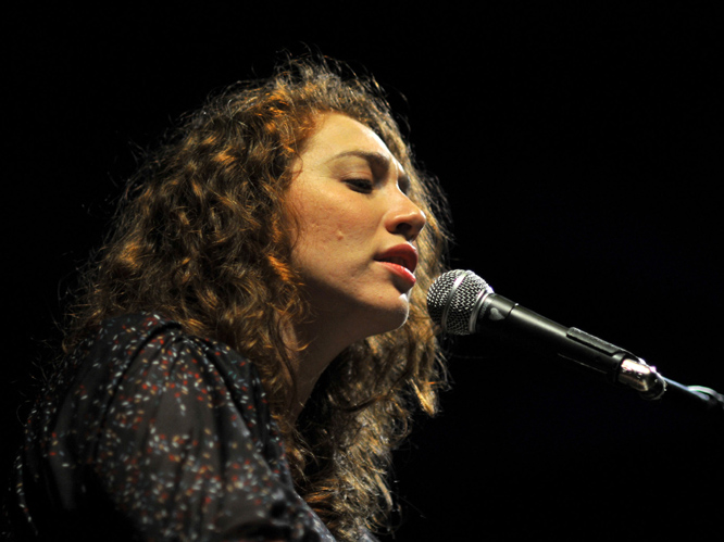 Regina Spektor: The American singer/songwriter is best known for her associating with New York''s anti-folk scene and her 2004 album Soviet Kitsch. Spektor has been quoted as saying that she wants to write a classics like the Beatles'' ''Yesterday'', but weird songs about stuff in her fridge keep coming into her head - she can''t help it.