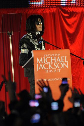 Michael Jackson @ The O2