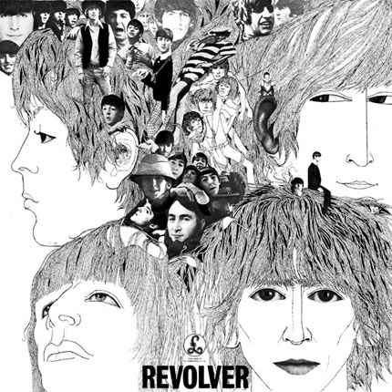 The Beatles: &#39;Revolver&#39; - His face is tiny, but there is a non-Beatles member worked into cover of the 1966 classic. 