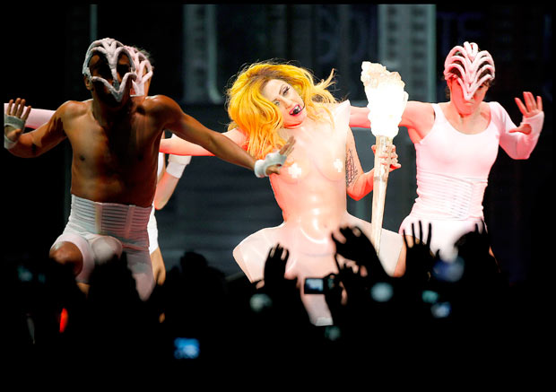 Lady Gaga Suffers 'Creative Hangover' After 'Born This Way' Video Shoot