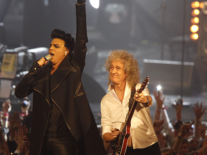Brian May on Adam Lambert: