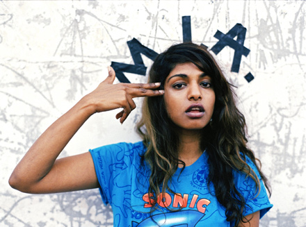 M.I.A. - In April 2010, M.I.A. (Maya Arulpragasam) hit out at Lady Gaga calling the pop star merely 