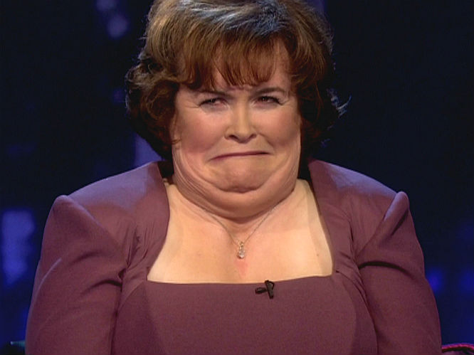 1. The 'Anal Bum Party' scene! As Susan Boyle released her Standing Ovation album in November 2012, it was celebrated on Twitter with the official hashtag #susanalbumparty, causing many lols across the social network and beyond, as many pondered what would actually take place at a Susan Boyle anal bum party.