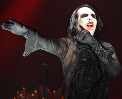 After: Marilyn Manson as we know and love him 