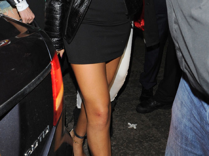 Rihanna The Pop Star Was Leaving A London Club When Crazed Fan