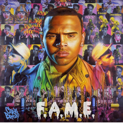 50) Chris Brown - 'Fame'