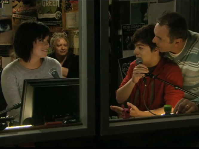 Lily Allen made her debut appearance on Australian soap 'Neighbours' in 2009. Allen confessed to being a huge fan of the show and tweeted: