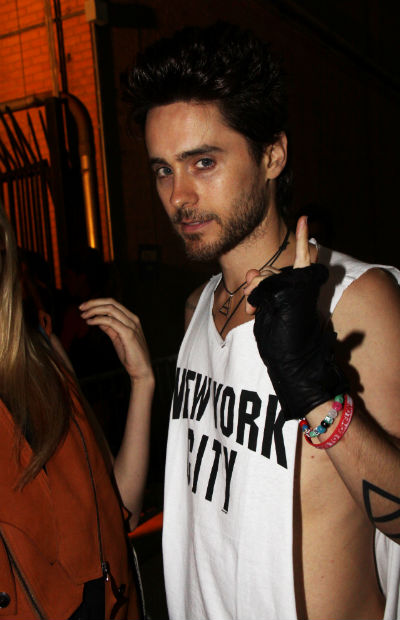 While slightly older than the rest on the list, Jared Leto is still single ...