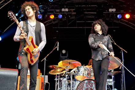 The Mars Volta at Somerset House, London