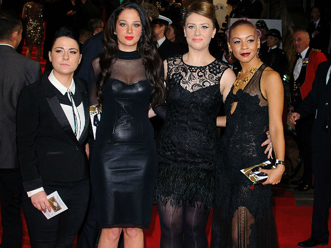 Lucy Spraggan, Tulisa, Ella Henderson and Jade Ellis (X Factor)