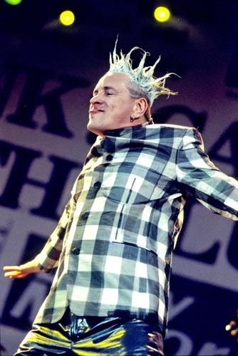 Johnny Rotten - Sex Pistols Filthy Lucre Tour at Finsbury Park, London, England - 23.06.96 (WENN)