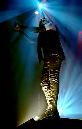 Marilyn Manson @ Manchester Central (photo Shirlaine Forrest)
