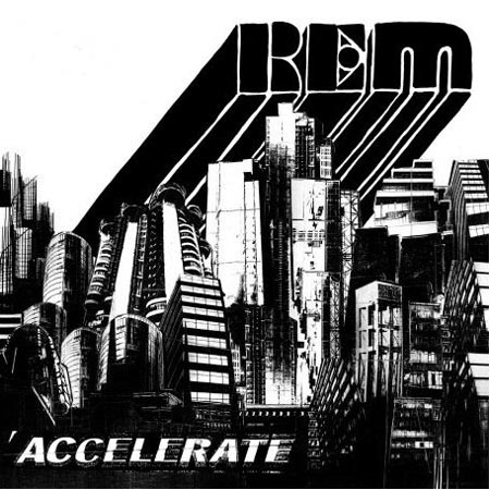 'Accelerate' is released on March 31 in Europe and April 1 in North America. Early listens to the songs show the band returning to the heady days of the 80s with first single 'Supernatural Superserious' already garnering rave reviews.