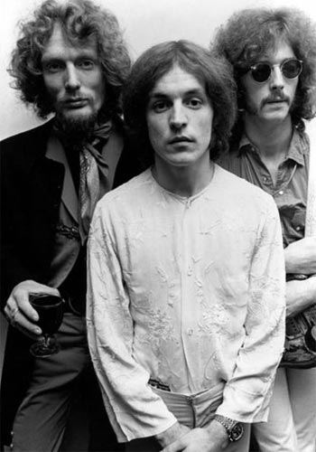Cream – Formed in 1966, Cream are arguably the first supergroup, featuring The Yardbirds' Eric Clapton, Jack Bruce and the inimitable Ginger Baker.