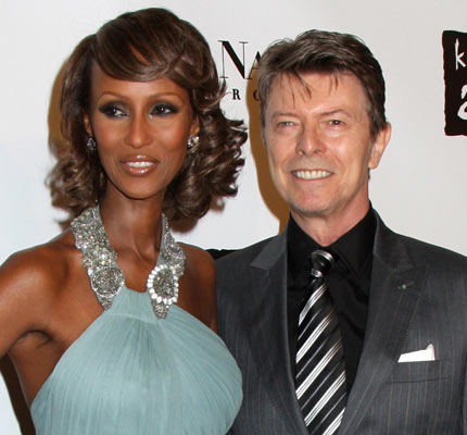 David Bowie and Iman Daughter Alexandria
