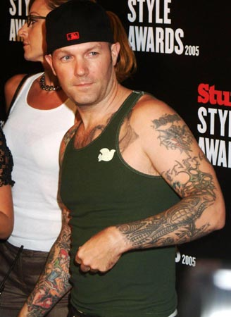 Fred Durst of Limp Bizkit – From where we're looking, Fred Durst has a