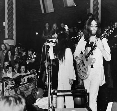 The Plastic Ono Band &#8211; A conceptual supergroup formed in 1969 before the sad demise of The Beatles a year or so later. George Harrison, Eric Clapton and Klaus Voorman were amongst those who joined the ranks. 