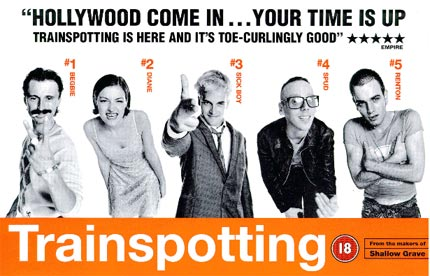 "1. Trainspotting - When the soundtrack was released it was so popular that it prompted the films bosses to release a second one. While both are brilliant, it's the first one that we're talking about. ""Choose life…"" Sure, we all know the words but without music Trainspotting would feel empty. Armed with dance classics as Underworld's 'Born Slippy' and Leftfields 'A Final Hit' alongside Britpop tracks and classics from the likes of Iggy Pop and Lou Reed, it's a perfect soundtrack."