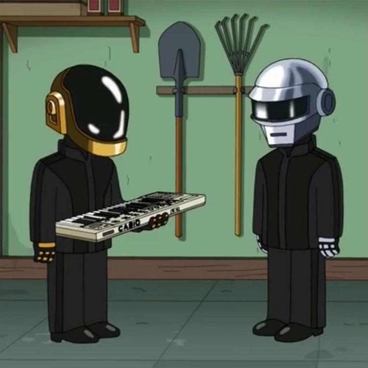 Daft Punk mocked in latest Family Guy episode