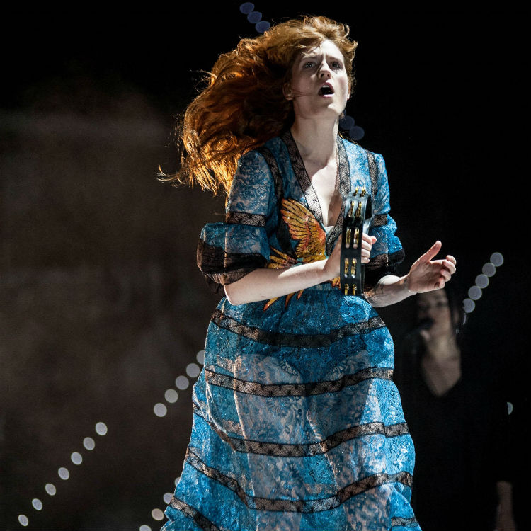 Florence and The Machine's awe inspiring Turin set - in amazing photos