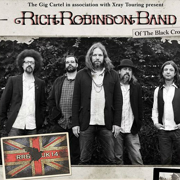 Tickets for Rich Robinson's UK tour on sale NOW