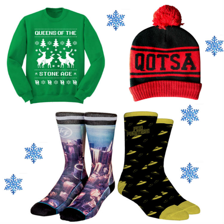 The best Christmas band jumpers + winter merch online